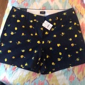 Lemon navy jcrew shorts